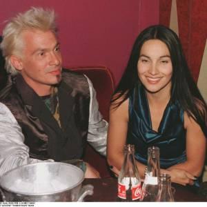 Florent Pagny et Azucena en février 1998.