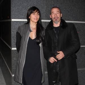 Florent Pagny et Azucena en septembre 2009.
