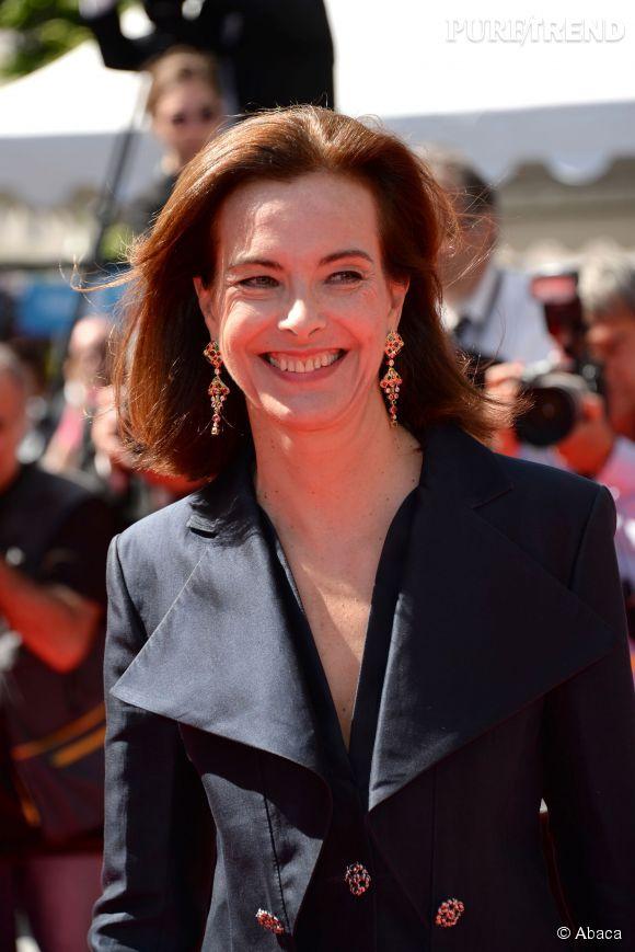 Carole Bouquet, victime d'un oedème, heureusement sans gravité, à Cannes 2014.