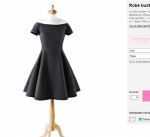 Voilà la fameuse robe Delphine Manivet pour La Redoute, portée par Barbara Probst.