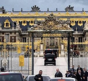 Kim Kardashian et Kanye West : les photos de leur fête au château de Versailles