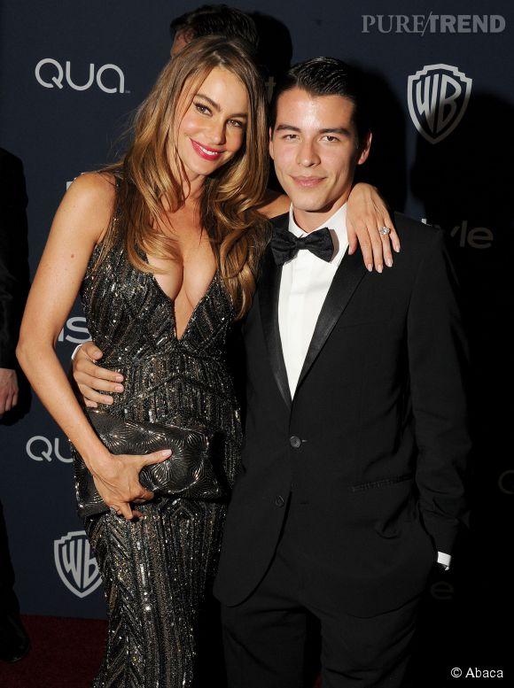 Sofia Vergara et son fils Manolo en 2014.