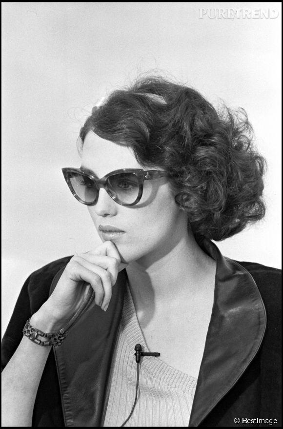 Isabelle Adjani présente L'été meurtrier au Festival de Cannes en 1983.