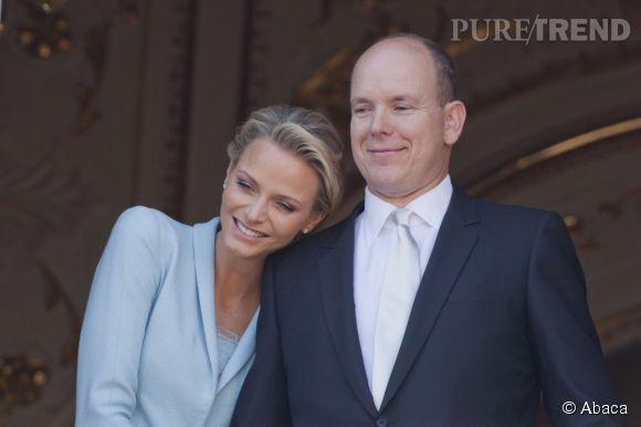 Charlene de Monaco et le Prince Albert en 2011.