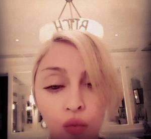 Madonna : un selfie Bitch sur Instagram, sa crise d'ado continue !
