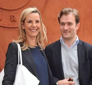 Laurence Ferrari et son mari : sortie en amoureux à Roland Garros 2014