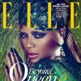 Beyoncé, méconnaissable avec les sourcils décolorés en Une du Elle brésilien. En plus, Perez Hilton a remarqué que la photo datait de 2011.