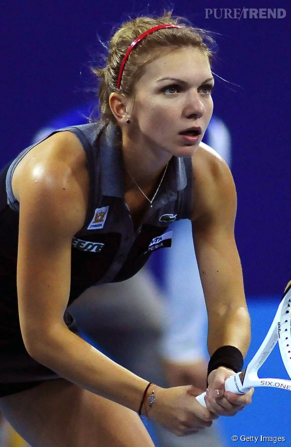 Simona Halep, joueuse de tennis roumaine.