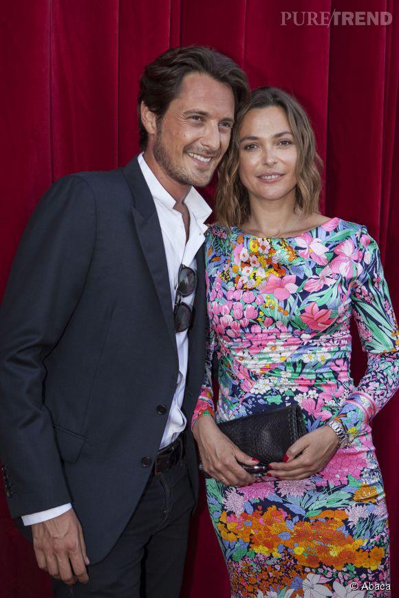 Sandrine Quétier retrouve son duo avec Vincent Cerruti pour le Festival de Monte-Carlo, le 8 juin 2014.
