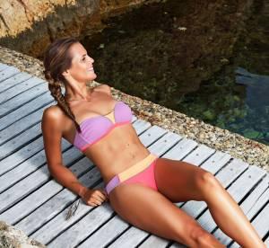 Laure Manaudou : chic, sexy et sport, ses maillots de bain LM Design