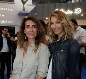Alexandra Golovanoff et Mademoiselle Agnès, le duo mode de la soirée BHV/Marais le 11 juin 2014.