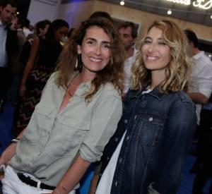 Alaxandra Golovanoff et Mademoiselle Agnès, le duo mode de la soirée BHV/Marais le 11 juin 2014.