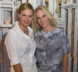 Francesca Cumani et la princesse Zara Phillips.