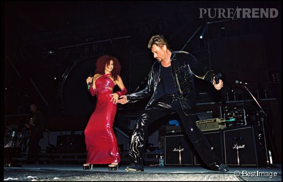Laetitia Larusso n'est pas près d'oublier qu'elle a fait la première partie des concerts de Johnny Hallyday en 1999.