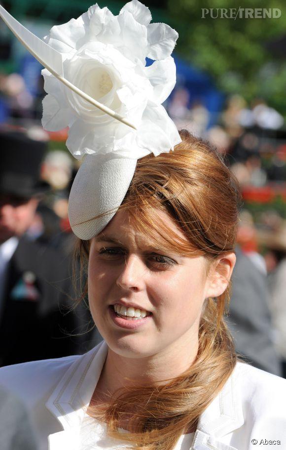 Beatrice d'York à Ascot en 2008.
