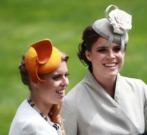 Beatrice et Eugenie d'York : la rétro de leurs bibi à Ascot en 36 photos
