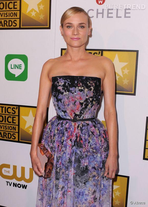 Diane Kruger lors de la soirée des Critics' Choice Television Awards 2014 à Los Angeles.