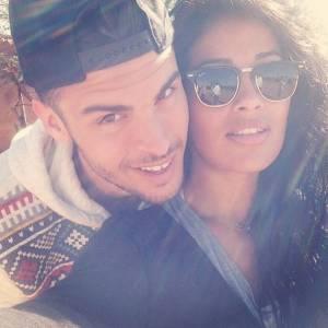 Baptiste Giabiconi et Sarah sur Instagram en 2014.