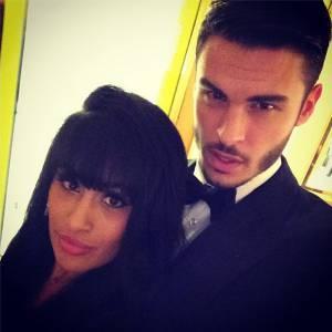 Sarah et Baptiste Giabiconi sur Instagram en 2013.