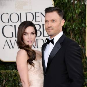 Megan Fox et Brian Austin Green au Golden Globe Awards 2013.
