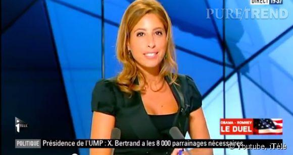 Léa Salamé, journaliste sur iTélé va devenir polémiste sur France 2.