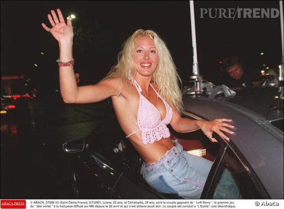 """Loana est la gagnante de la toute première émission de télé-réalité en France en 2001 : """"Loft Story""""."""