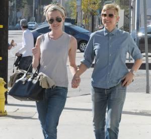 Portia de Rossi et Ellen DeGeneres en 2014.