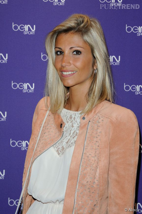 Alexandra Rosenfeld très très blonde en 2012.