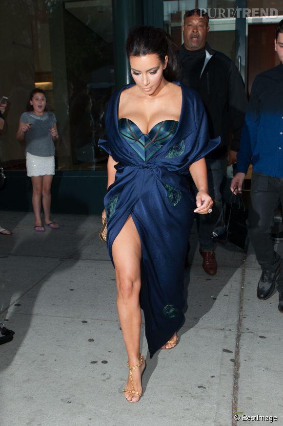 Kim Kardashian, un peu too much pour une soirée sur un yatch ?