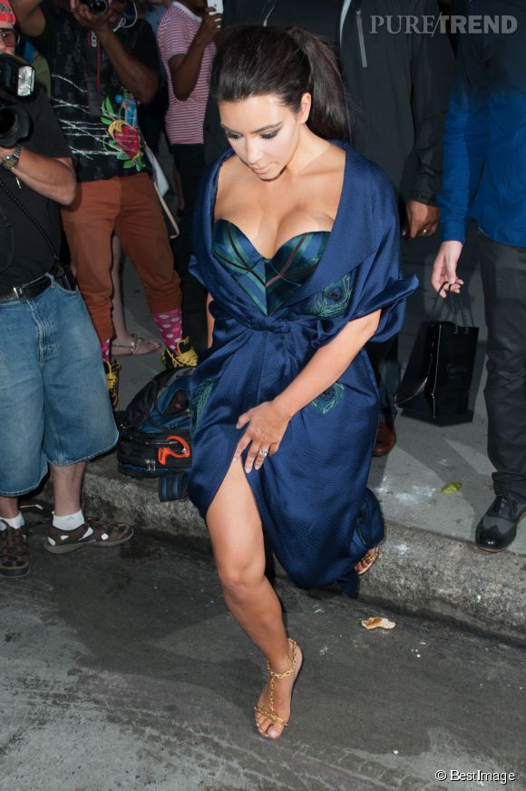 Kim Kardashian en fait toujours plus.