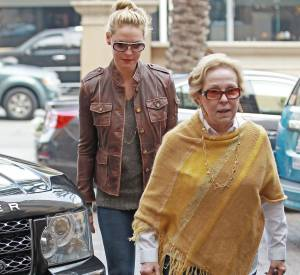 Katherine Heigl et sa mère Nancy, le redoutable duo d'Hollywood.