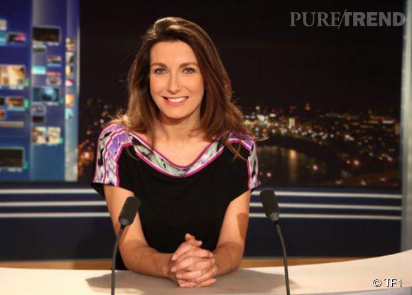 Anne-Claire Coudray est le joker de Claire Chazal depuis juillet 2012.