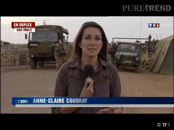Journaliste de terrain, Anne-Claire Coudray a couvert l'intervention française au Mali en février 2013.