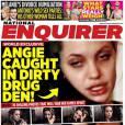 The National Enquirer dévoile des photos d'Angelina Jolie droguée en juin 2014.