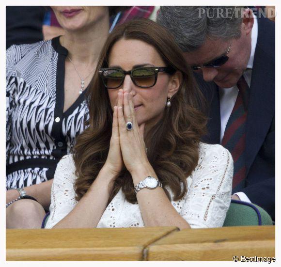 Kate Middleton, les rumeurs qui disent qu'elle annoncera un second heureux évènement pour l'anniversaire de baby George, le 22 juillet 2014, font exploser les paris en ligne.