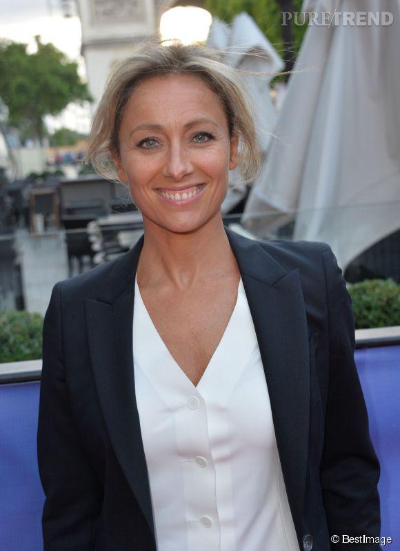 """Anne-Sophie Lapix sera aux commandes de """"Mots croisés"""" à la rentrée."""