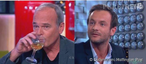 Laurent Baffie et Jérémy Michalak, gros moment de tension en plein direct sur France 5.