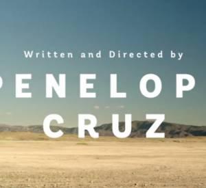 """""""L'Agent"""" d'Agent Provocateur par Penelope Cruz."""