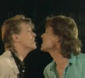 David Bowie et Mick Jagger - Dancing in the streets 1985.