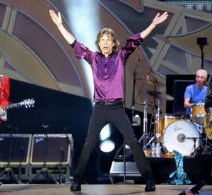Mick Jagger et les Rolling Stones au Stade de France le 13 juin 2014 pour leur tournée 14onfire.
