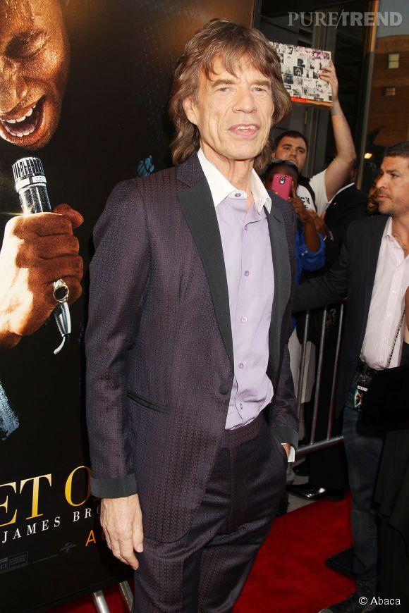Mick Jagger, rock star et bourreau des coeurs.