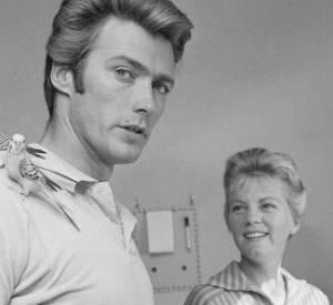 Clint Eastwood et sa première femme Maggie Johnson.