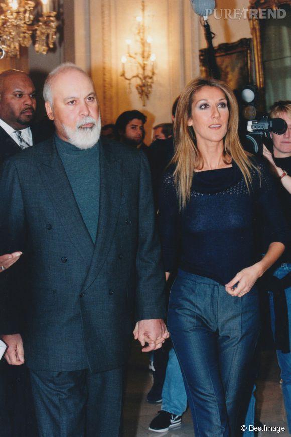 Céline Dion et René sont mariés depuis 19 ans.