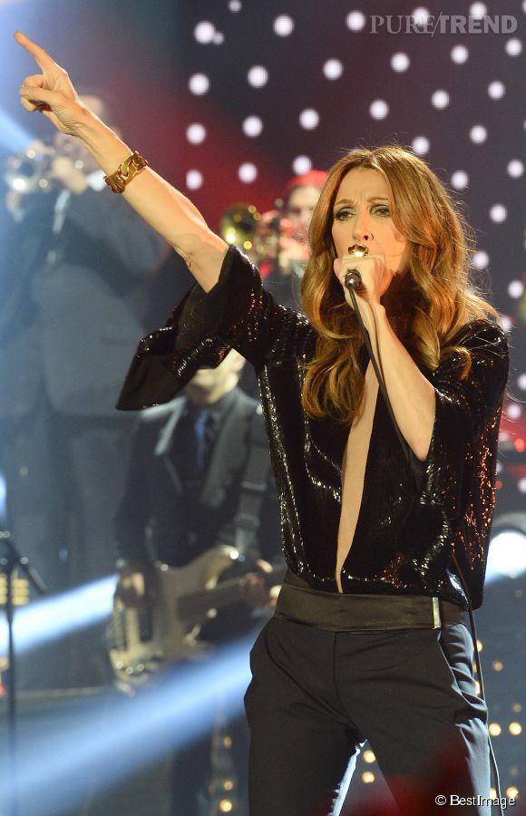 Céline Dion explique dans  Paris Match  que remonter sur scène lui a fait du bien.