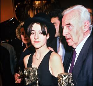 Romane Bohringer lors de la remise des César de 1993.