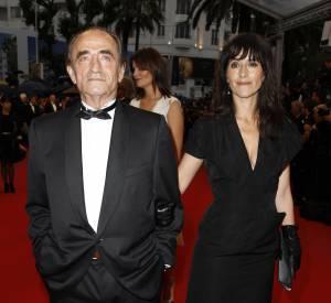 Romane Bohringer et son père Richard Bohringer lors de la clôture du Festival de Cannes de 2012.