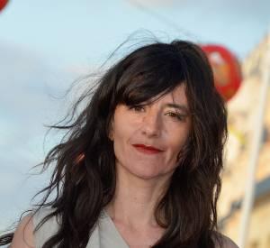 Romane Bohringerau Festival du film romantique de Cabourg en juin 2014.