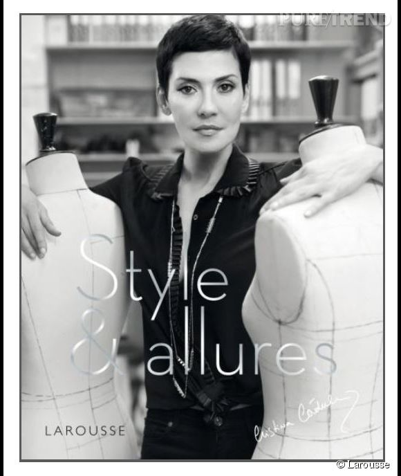 """""""Style et Allures"""", prochain livre de Cristina Cordula chez Larousse. Une bible mode qui sortira en librairie le 7 octobre 2014."""
