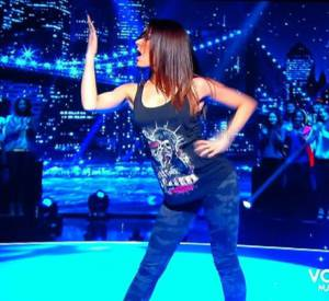 """Sofia Essaïdi dans l'épreuve """"Let's Dance"""" : une leçon de danse sexy."""