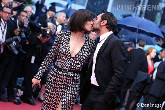 Gilles Lellouche et son ex-femme, l'actrice Mélanie Doutey.